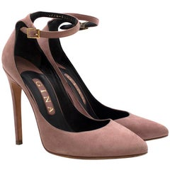 Gina Dusty-Pink Suede Pumps SIZE 5