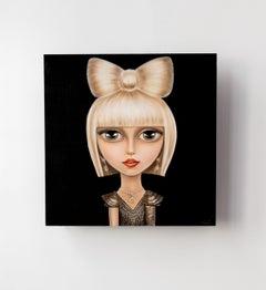 Portrait Of Pop Culture Icon Lady Gaga