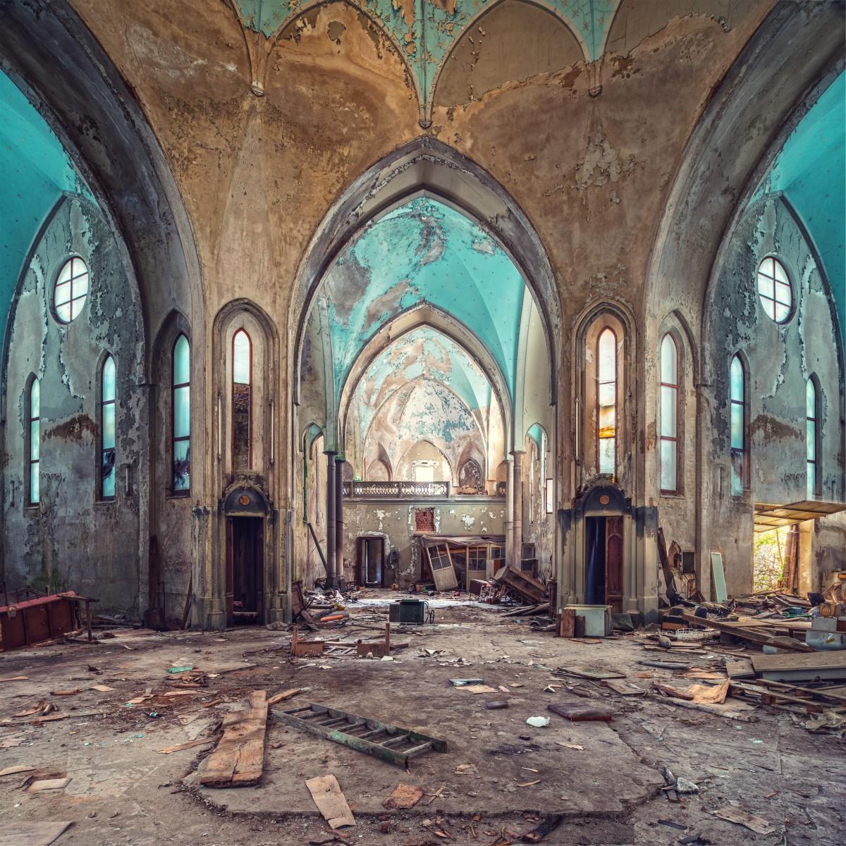 Chiesa Turchese, Interior Photography
