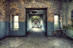 School Corridor by Gina Soden - interior photography, abandoned place