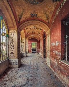 Villa Libertà Rossa (Interior Photography, derelict building)