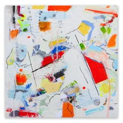 Aerial View (Abstract Expressionism painting)