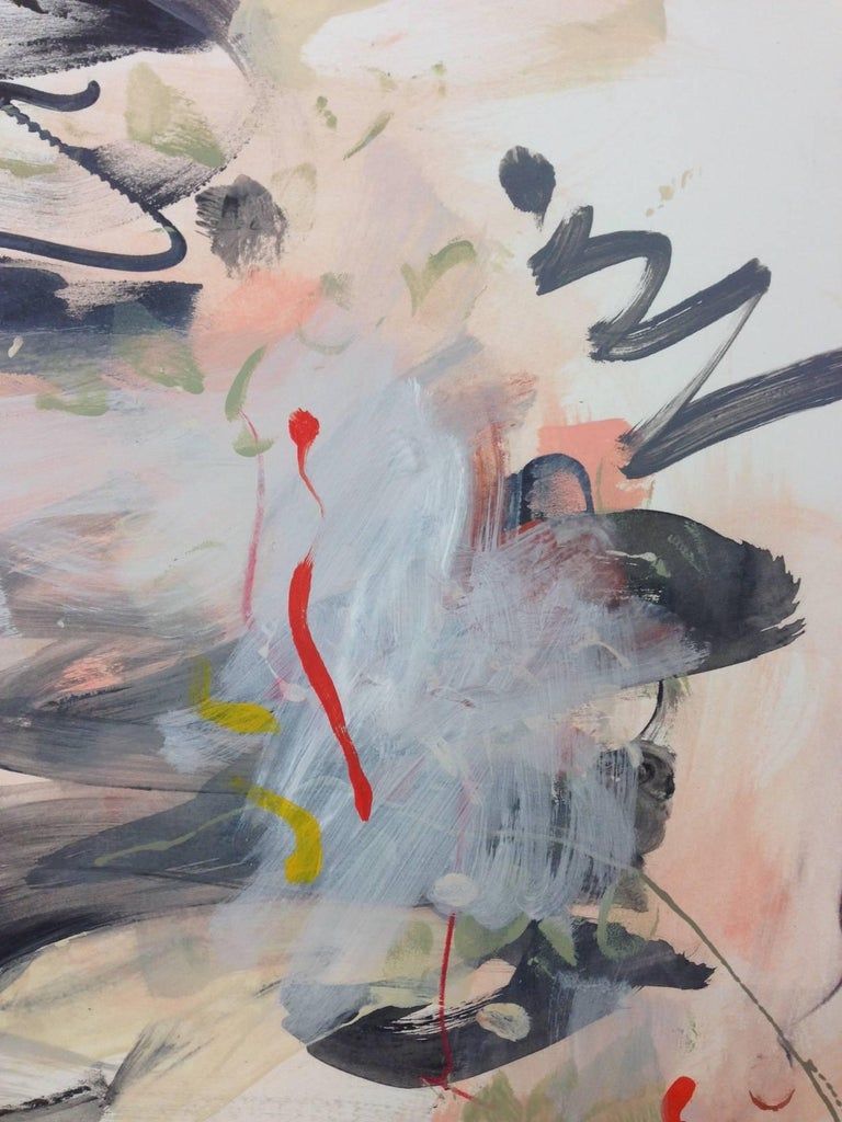 Notation  - Abstract Expressionist Painting by Gina Werfel