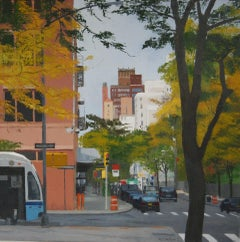 New York II -21st Century Contemporary City View of New York