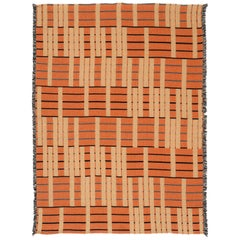 Ginger Woven Throw Blanket