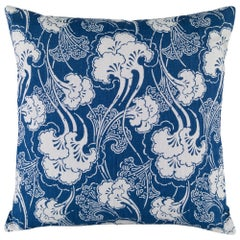 Ginkgoleaf Pillow in Indigo by Curatedkravet