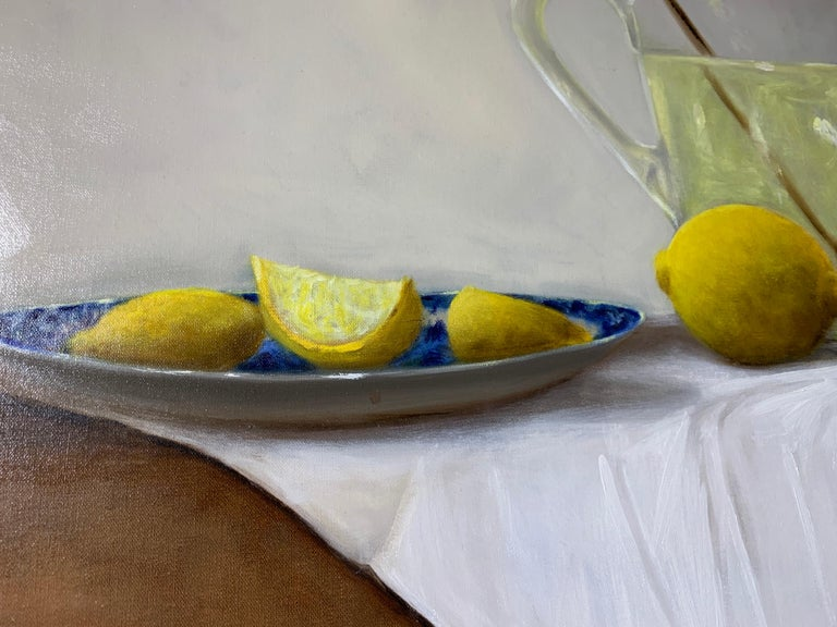 When Life Gives You Lemons by Ginny Williams, Framed Realist Still-Life Painting For Sale 3
