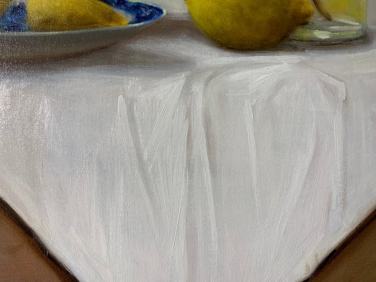 When Life Gives You Lemons by Ginny Williams, Framed Realist Still-Life Painting For Sale 4