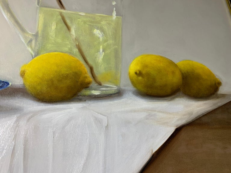 When Life Gives You Lemons by Ginny Williams, Framed Realist Still-Life Painting For Sale 5