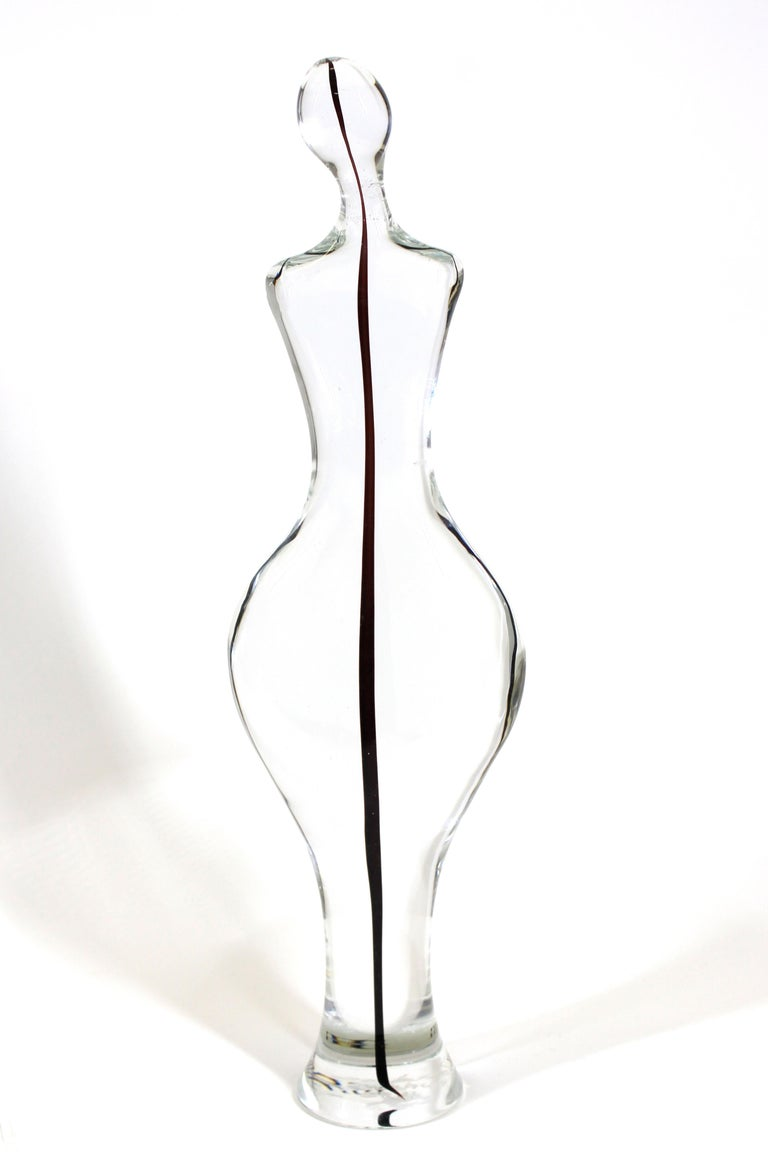 Italian Gino Fort for Cenedese Murano Glass Sculpture For Sale