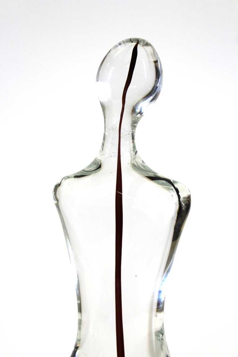 Gino Fort for Cenedese Murano Glass Sculpture In Good Condition For Sale In New York, NY