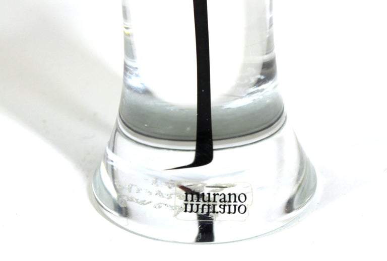 Gino Fort for Cenedese Murano Glass Sculpture For Sale 1