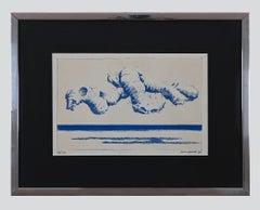 Seaweed - Original Etching by Gino Guida - 1968