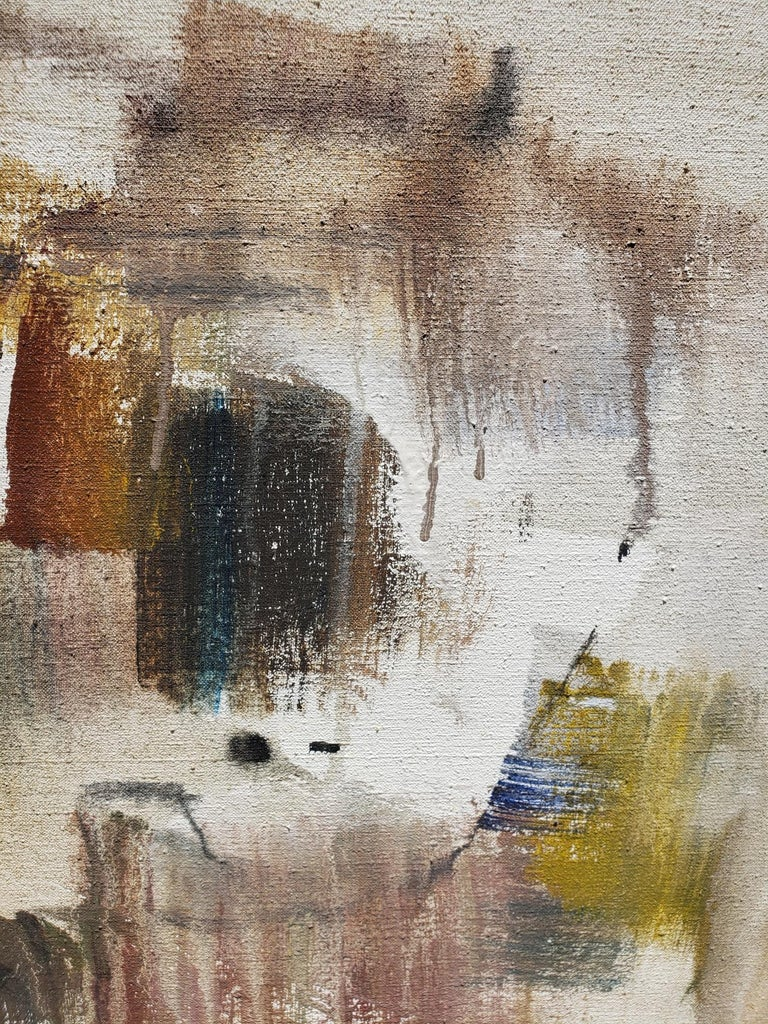 Wild 1961. Gino Hollander began painting in 1960 at the time that a new medium - acrylic paint - was emerging and he was among the first to explore its possibilities. Viewing his work now, one becomes aware of the virtuosity of both the painter and