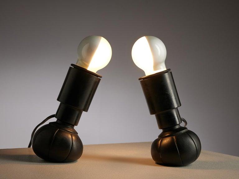 Italian Gino Sarfatti '600C' Table Lamps For Sale