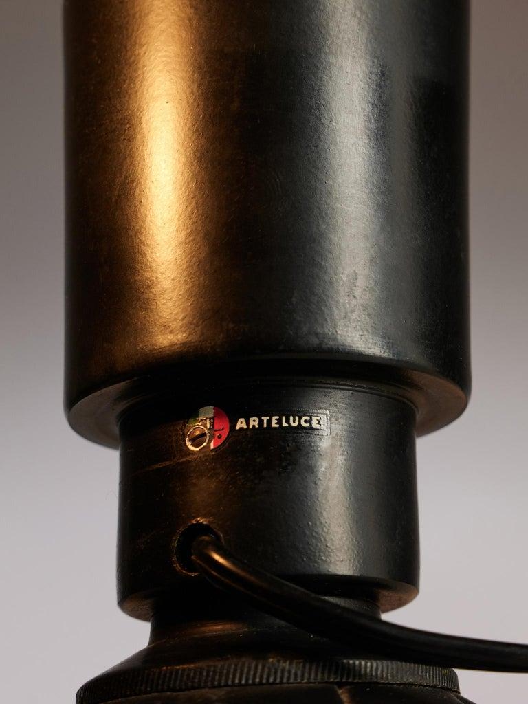 Mid-20th Century Gino Sarfatti '600C' Table Lamps For Sale