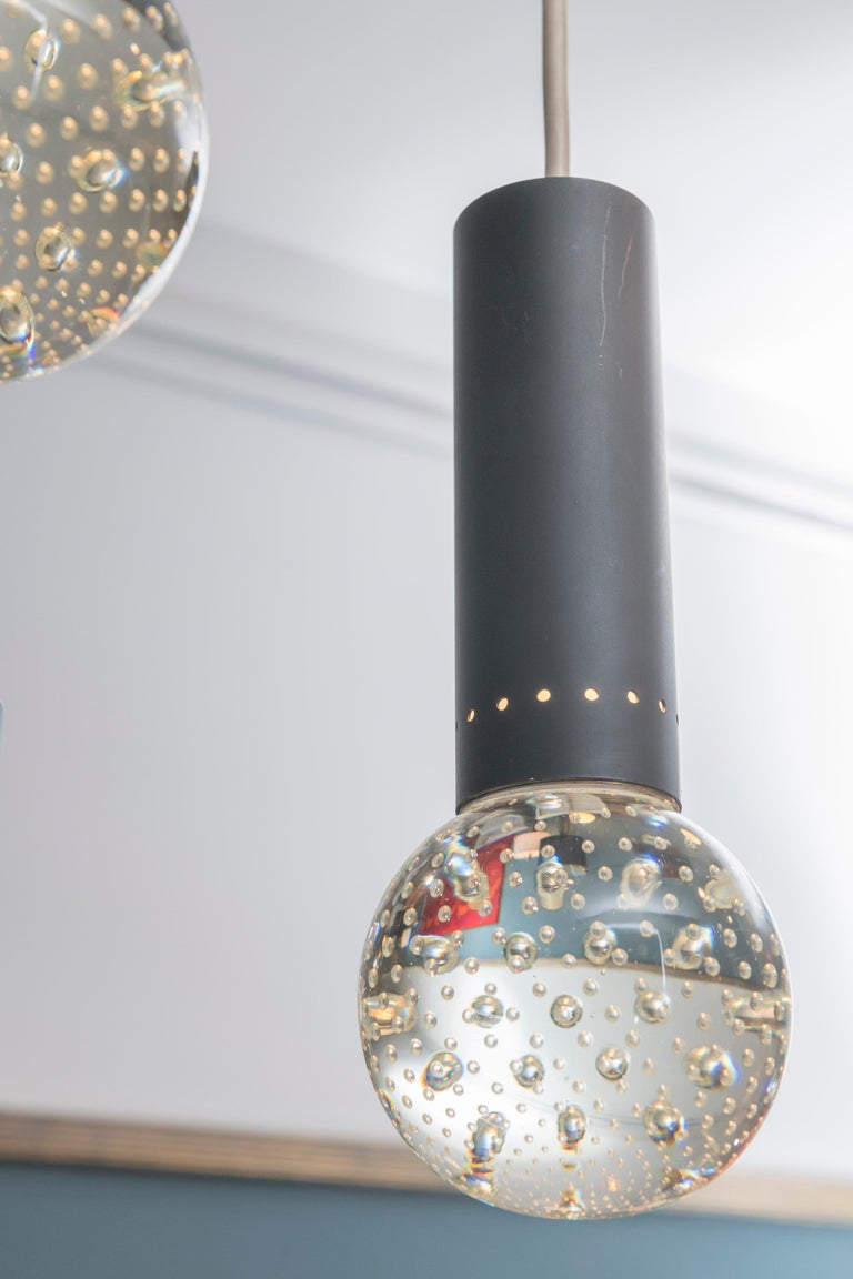 Gino Sarfatti and Archimede Seguso Chandelier for Lightolier In Good Condition For Sale In San Francisco, CA