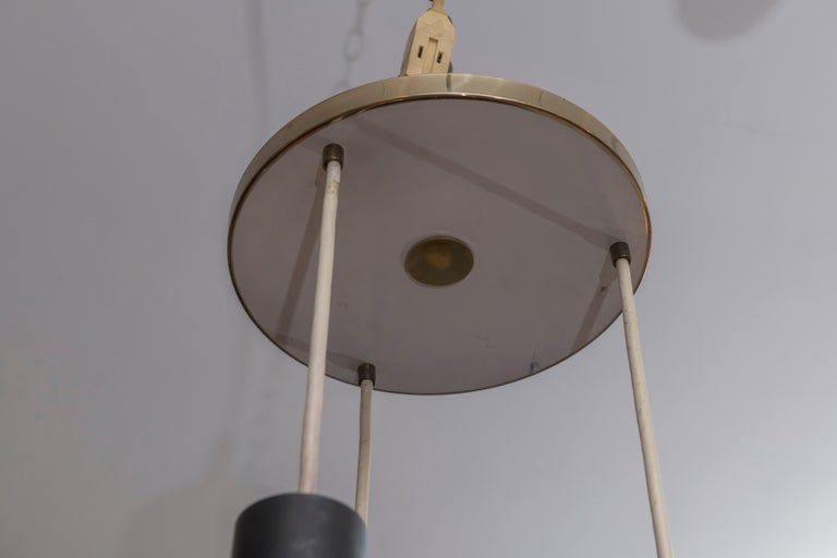 Mid-20th Century Gino Sarfatti and Archimede Seguso Chandelier for Lightolier For Sale
