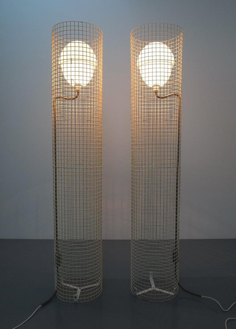 Gino Sarfatti Floor Or Outdoor Lights Model 1102 Arteluce, Italy, 1971 For Sale 5