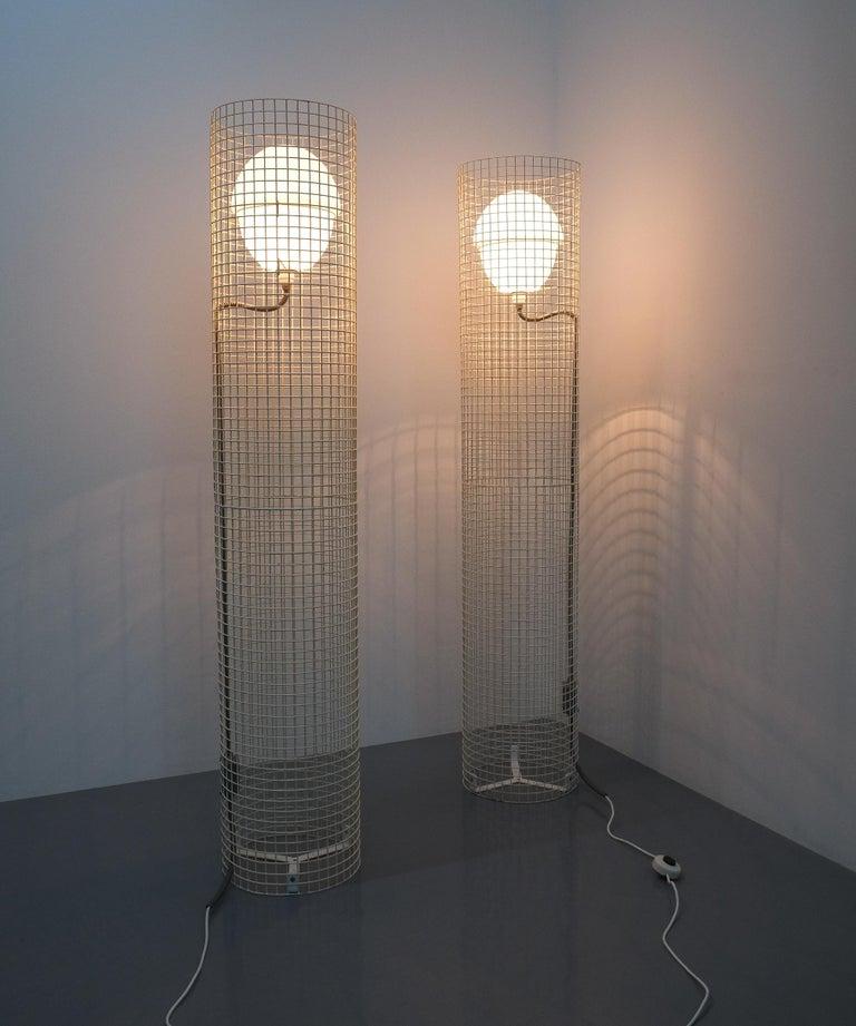 Mid-Century Modern Gino Sarfatti Floor Or Outdoor Lights Model 1102 Arteluce, Italy, 1971 For Sale