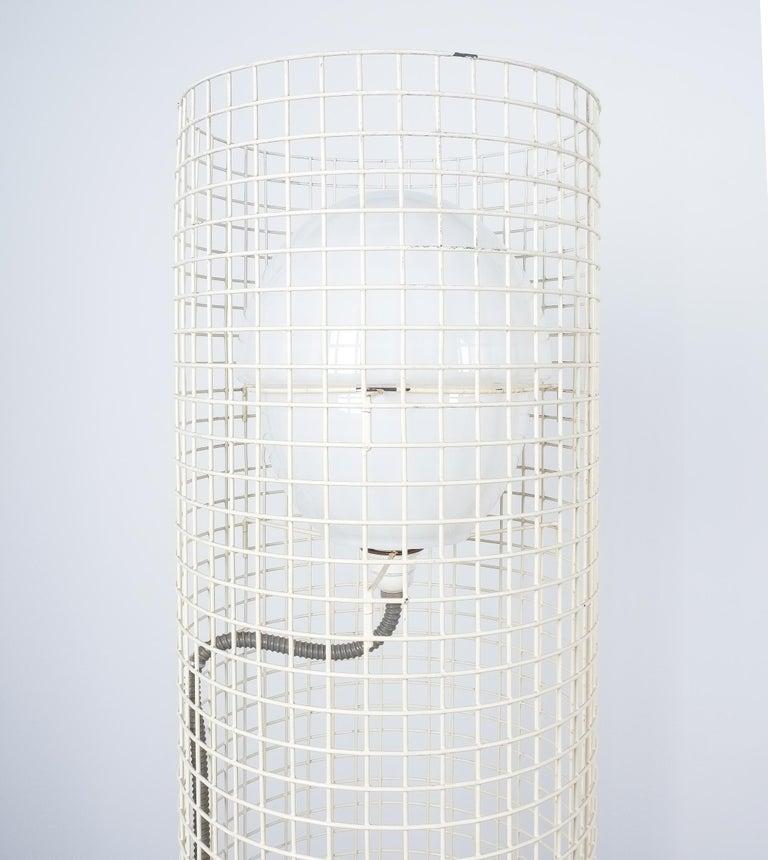 Opaline Glass Gino Sarfatti Floor Or Outdoor Lights Model 1102 Arteluce, Italy, 1971 For Sale
