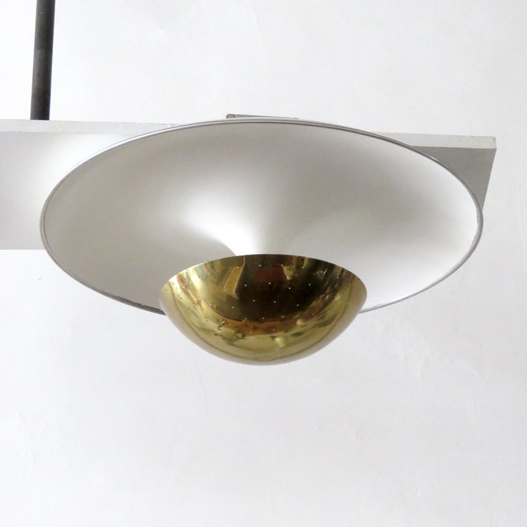 Italian Gino Sarfatti Flushmount Light, 1950 For Sale