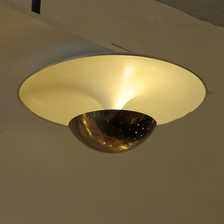 Gino Sarfatti Flushmount Light, 1950 For Sale 1