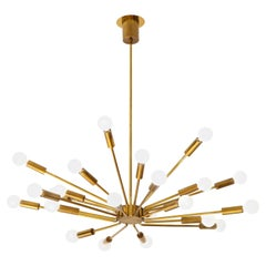 Gino Sarfatti for Arteluce Sputnik Chandelier Model 2003