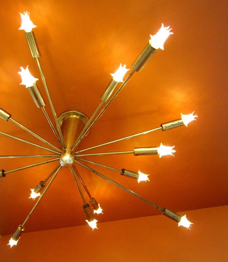 Gino Sarfatti for Lightolier Astral Sputnik For Sale 5