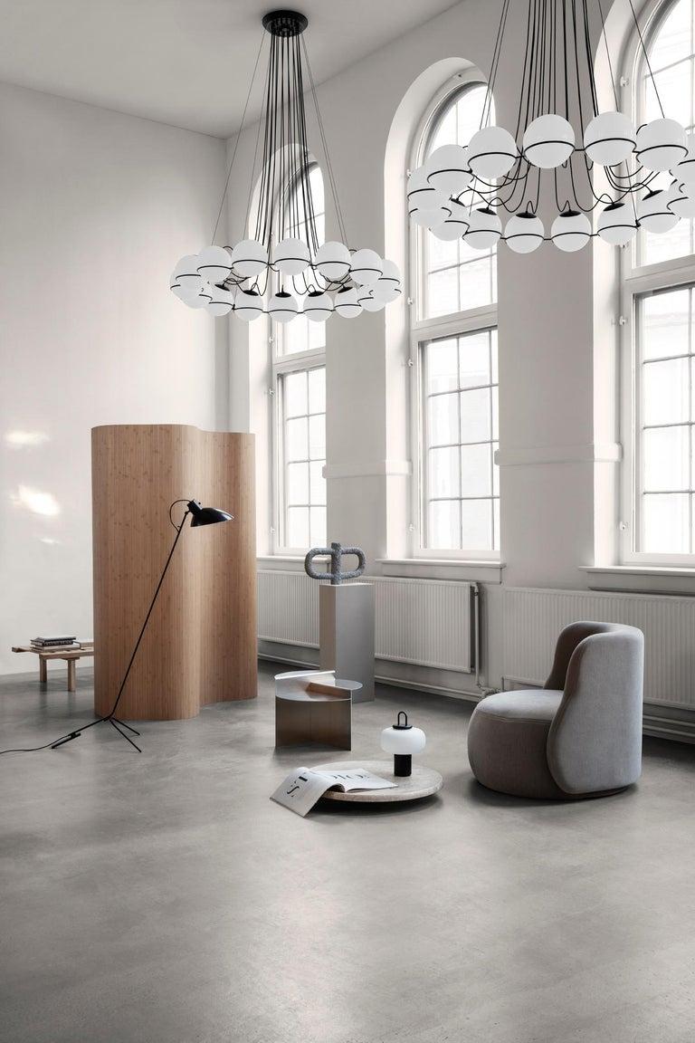 Gino Sarfatti Lamp Model 2109/16/14 Black Structure For Sale 6