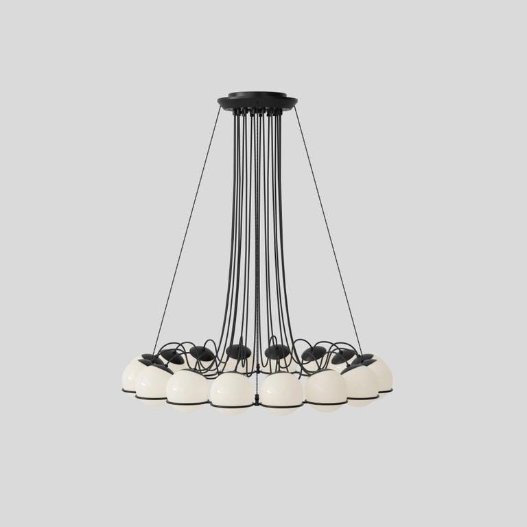 Gino Sarfatti Lamp Model 2109/16/14 Black Structure For Sale 10
