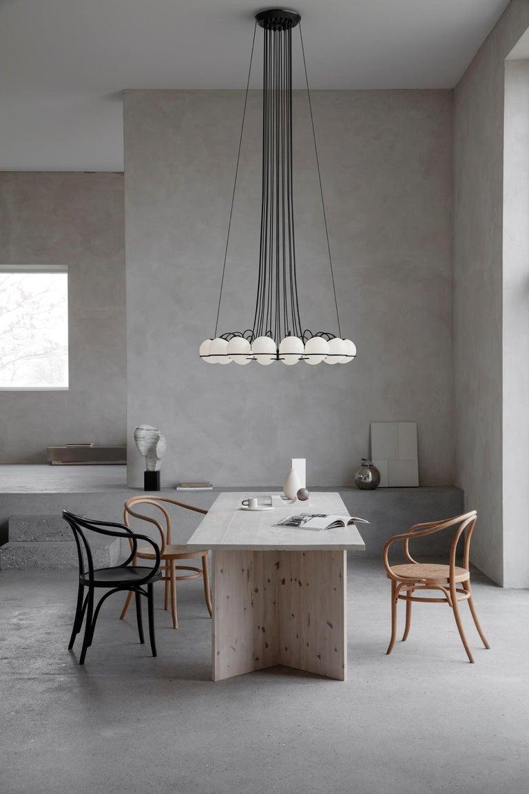 Mid-Century Modern Gino Sarfatti Lamp Model 2109/16/14 Black Structure For Sale