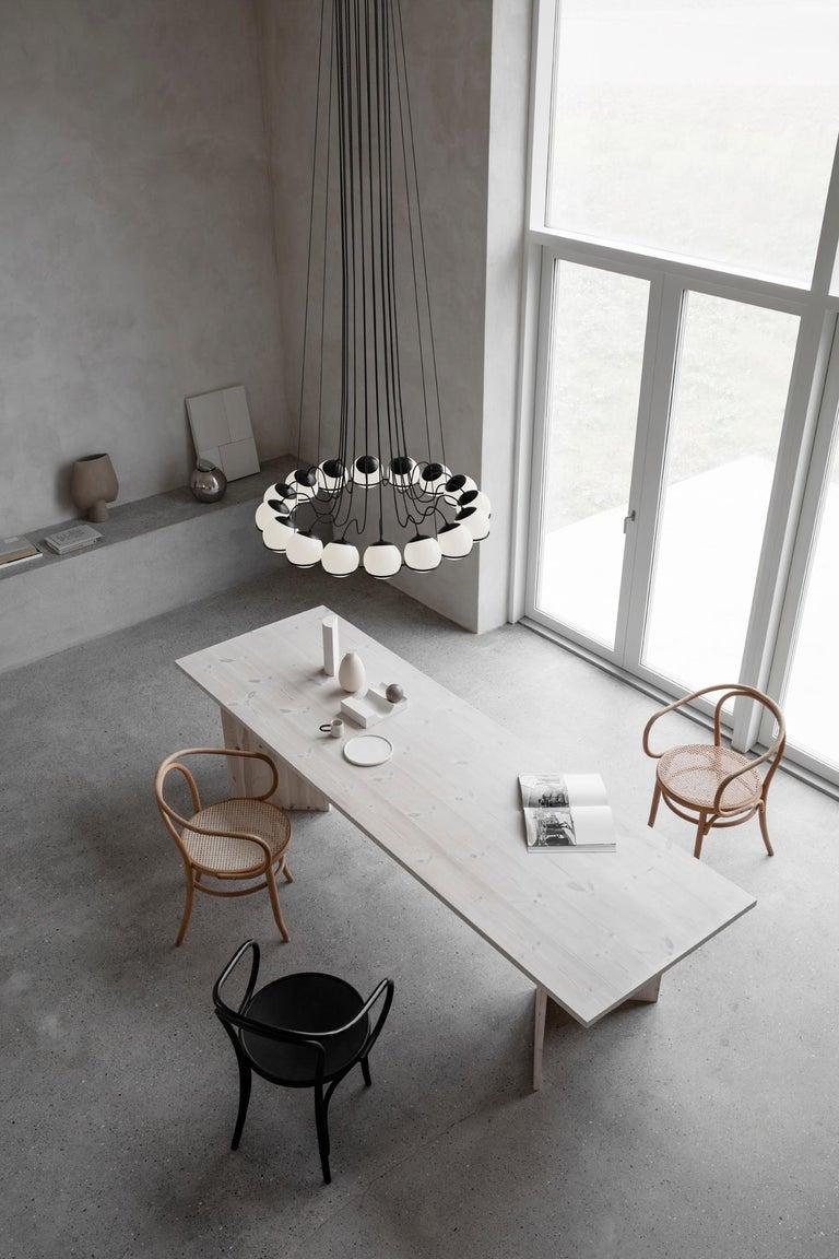 Gino Sarfatti Lamp Model 2109/16/14 Black Structure In New Condition For Sale In Barcelona, Barcelona