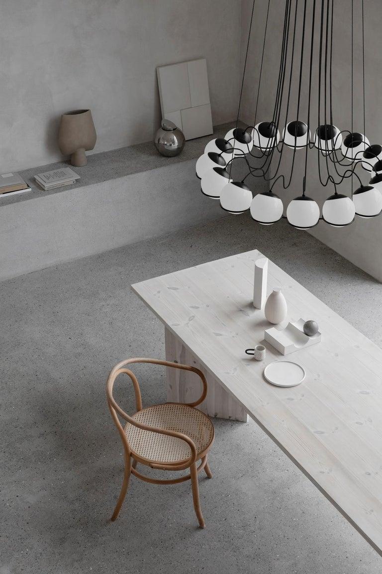Steel Gino Sarfatti Lamp Model 2109/16/14 Black Structure For Sale