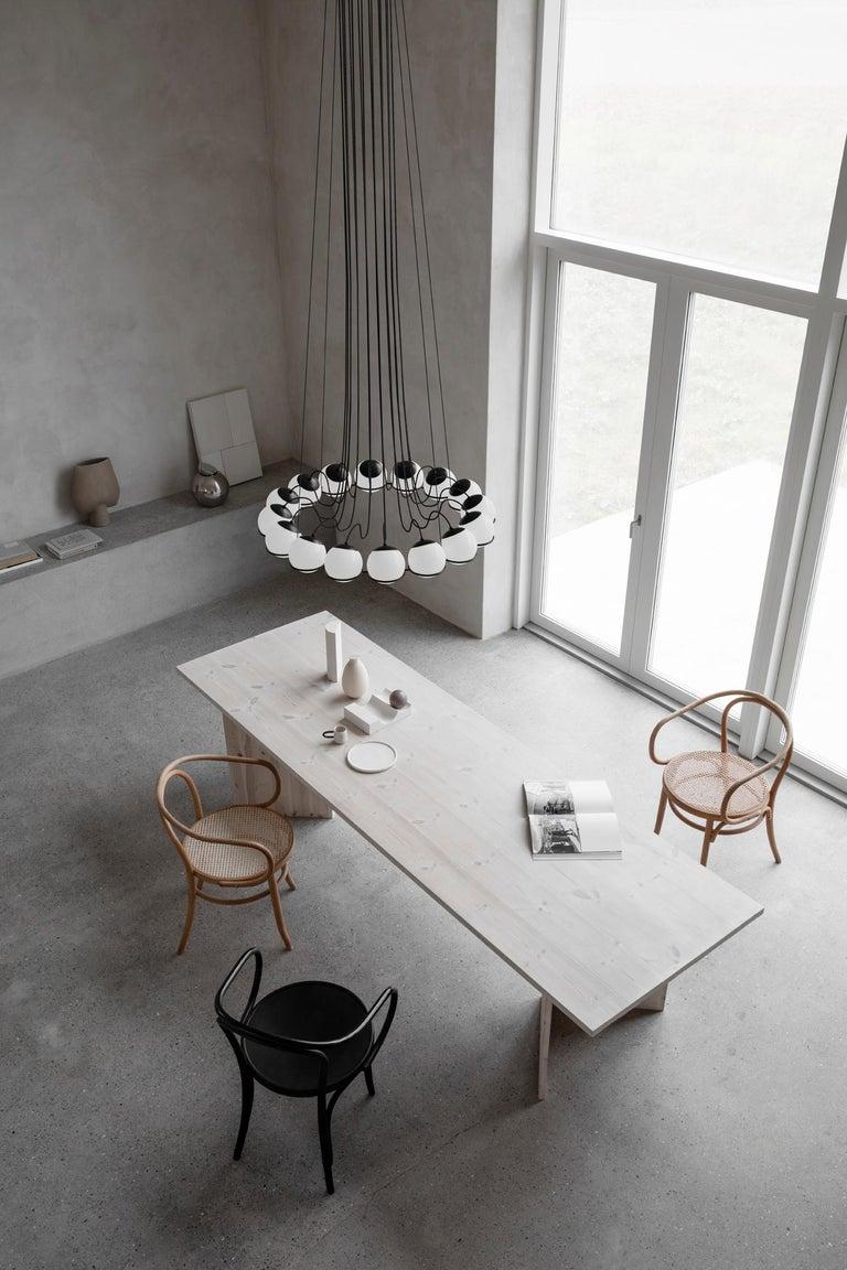 Gino Sarfatti Lamp Model 2109/16/14 Black Structure For Sale 1