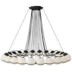Gino Sarfatti Lamp Model 2109/24/14 Black Structure