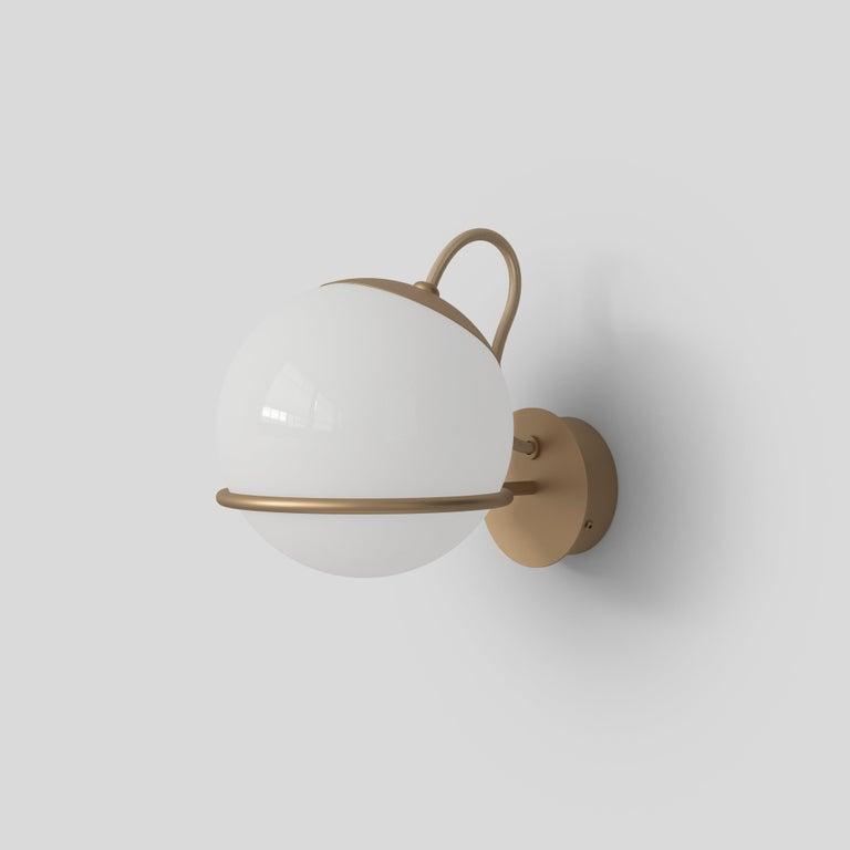 Gino Sarfatti Lamp Model 238/1 Champagne Mount For Sale 5