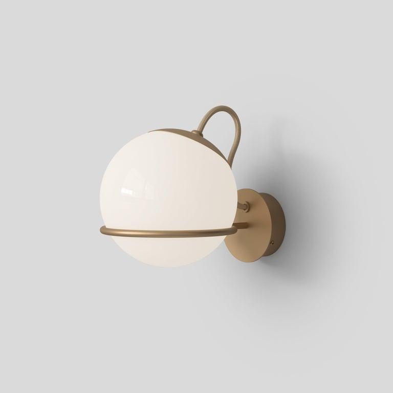 Gino Sarfatti Lamp Model 238/1 Champagne Mount For Sale 6