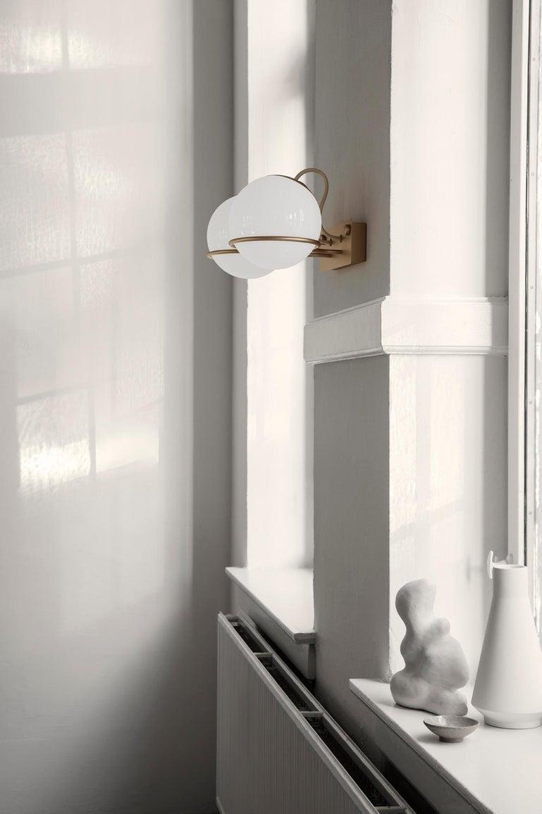 Contemporary Gino Sarfatti Lamp Model 238/1 Champagne Mount For Sale