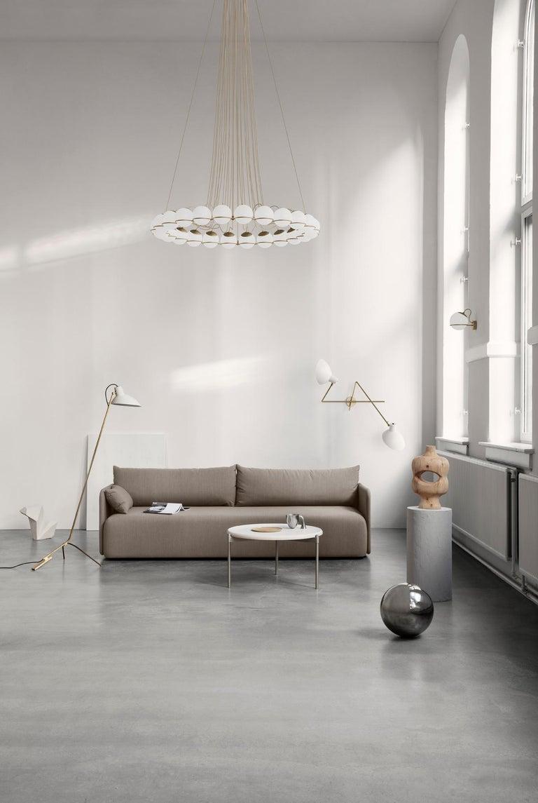 Gino Sarfatti Lamp Model 238/1 Champagne Mount For Sale 1