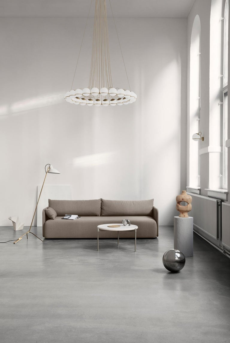 Gino Sarfatti Lamp Model 238/1 Champagne Mount For Sale 2