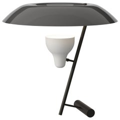 Gino Sarfatti Lamp Model 548 Dark Burnished Brass with Grey Difuser