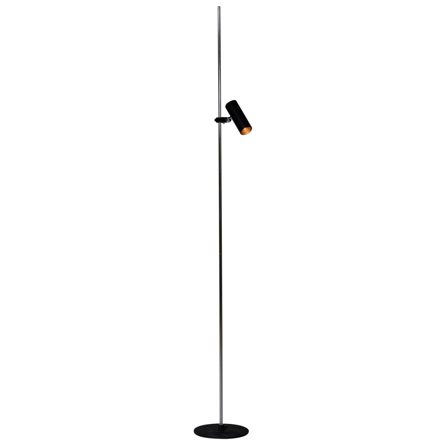 Gino Sarfatti 'Model 1055' Adjustable Floor Lamp for Arteluce, Italy, 1950s