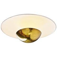 Gino Sarfatti Model 155 Ceiling Lamp Arteluce, 1950