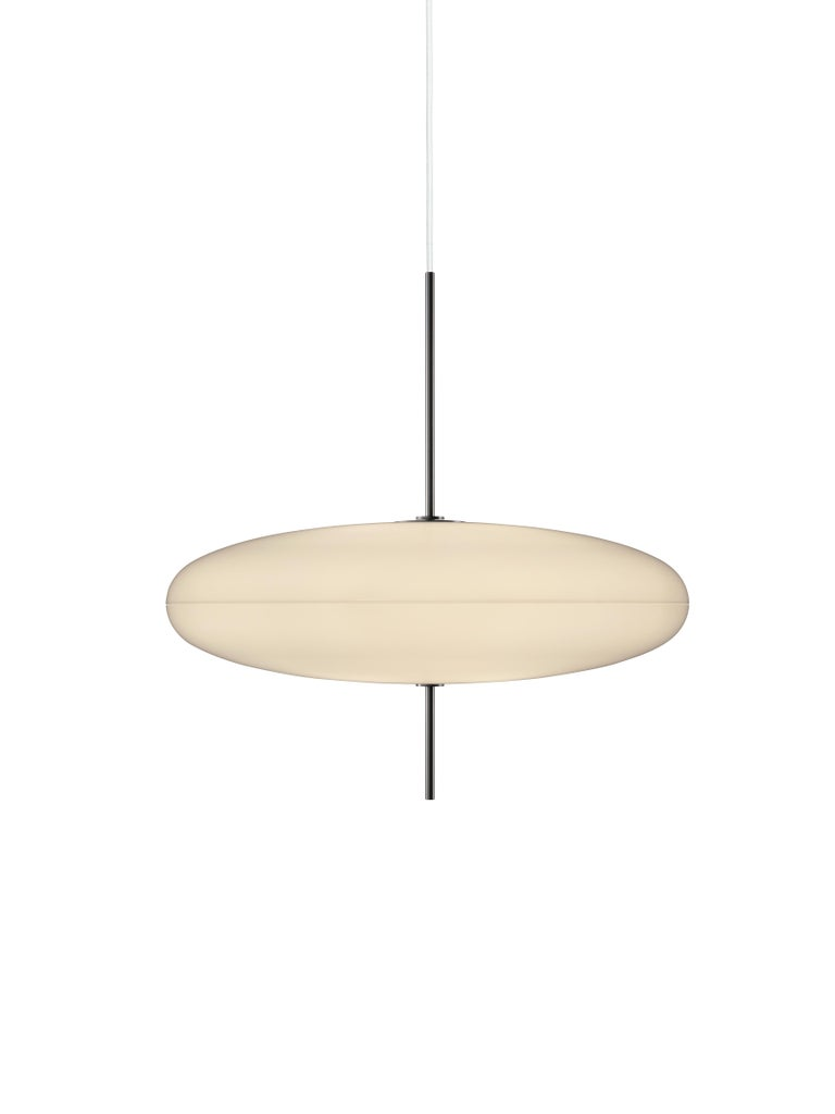 Painted Gino Sarfatti Model No. 2065 Ceiling Light For Sale