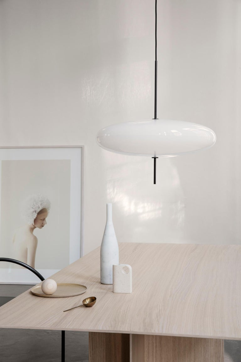 Contemporary Gino Sarfatti Model No. 2065 Ceiling Light For Sale