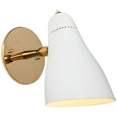 Gino Sarfatti Perforated Cone Sconce for Arteluce, circa 1950