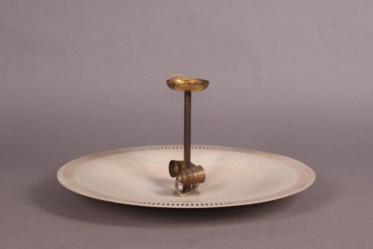 Gino Sarfatti Style Italian Chandelier For Sale 1
