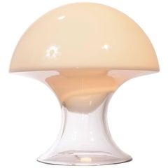 Gino Vistosi Mushroom-Shaped Murano Glass Table Lamp
