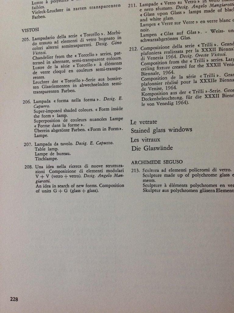 Gino Vistosi Torcello Murano Glass Disk Sconces For Sale 6
